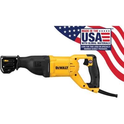 DeWalt 12-Amp Reciprocating Saw