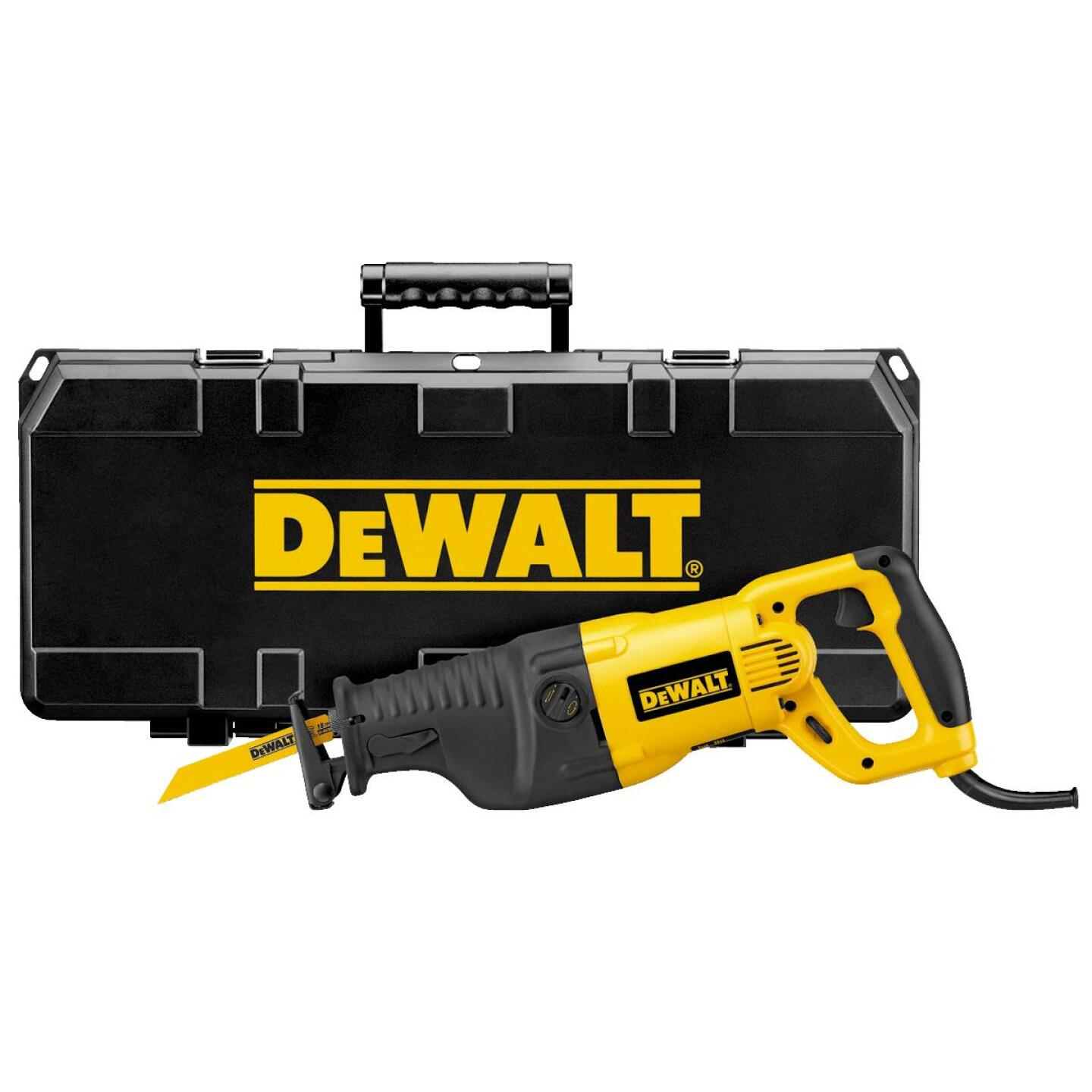 DeWalt 13-Amp Reciprocating Saw Kit Image 1