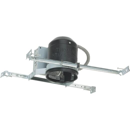 Thomas 4 In. New Construction Non-IC Rated Recessed Light Fixture