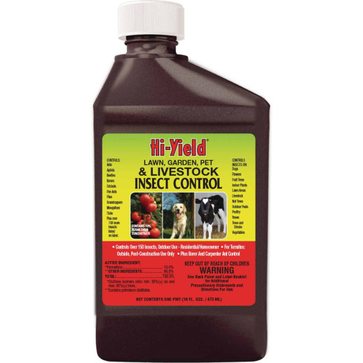 Hi-Yield 16 Oz. Concentrate Garden & Farm Insect Killer