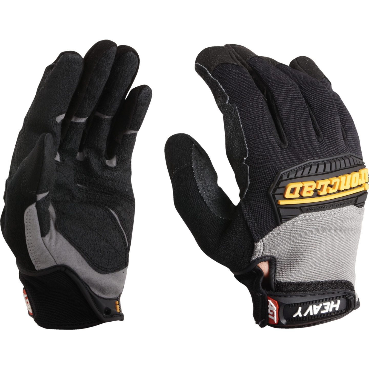 Ironclad Heavy Utility Men'sLarge Synthetic Leather High Performance Glove Image 2